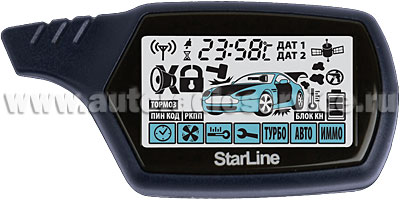 Брелок сигнализации StarLine В9 Dialog CAN F5 V100