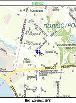 Отображение текущего местоположения на карте
