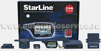 Автосигнализация StarLine В6 Dialog CAN F5 V100