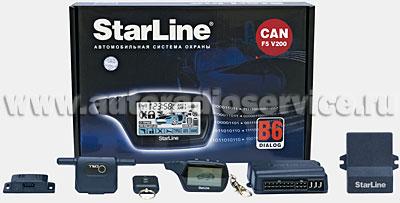 Автосигнализация StarLine В6 Dialog CAN F5 V200