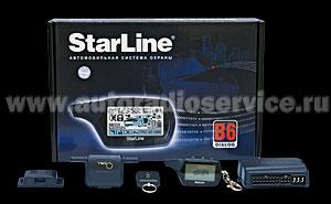 Сигнализация StarLine В6 Dialog