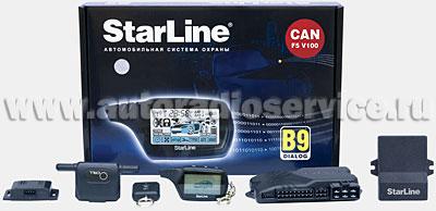 Автосигнализация StarLine В9 Dialog CAN F5 V100