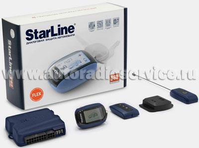 Автосигнализация StarLine B62 Dialog Flex