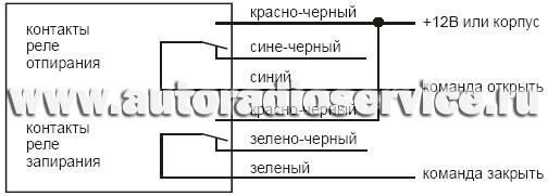 Схема выключателя тумблер