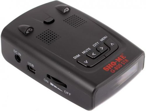Обзор антирадара SHO-ME G-800 STR