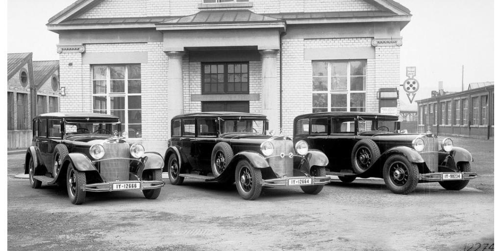 От Mercedes-Benz 770 до современного Mercedes-Benz С-Класс